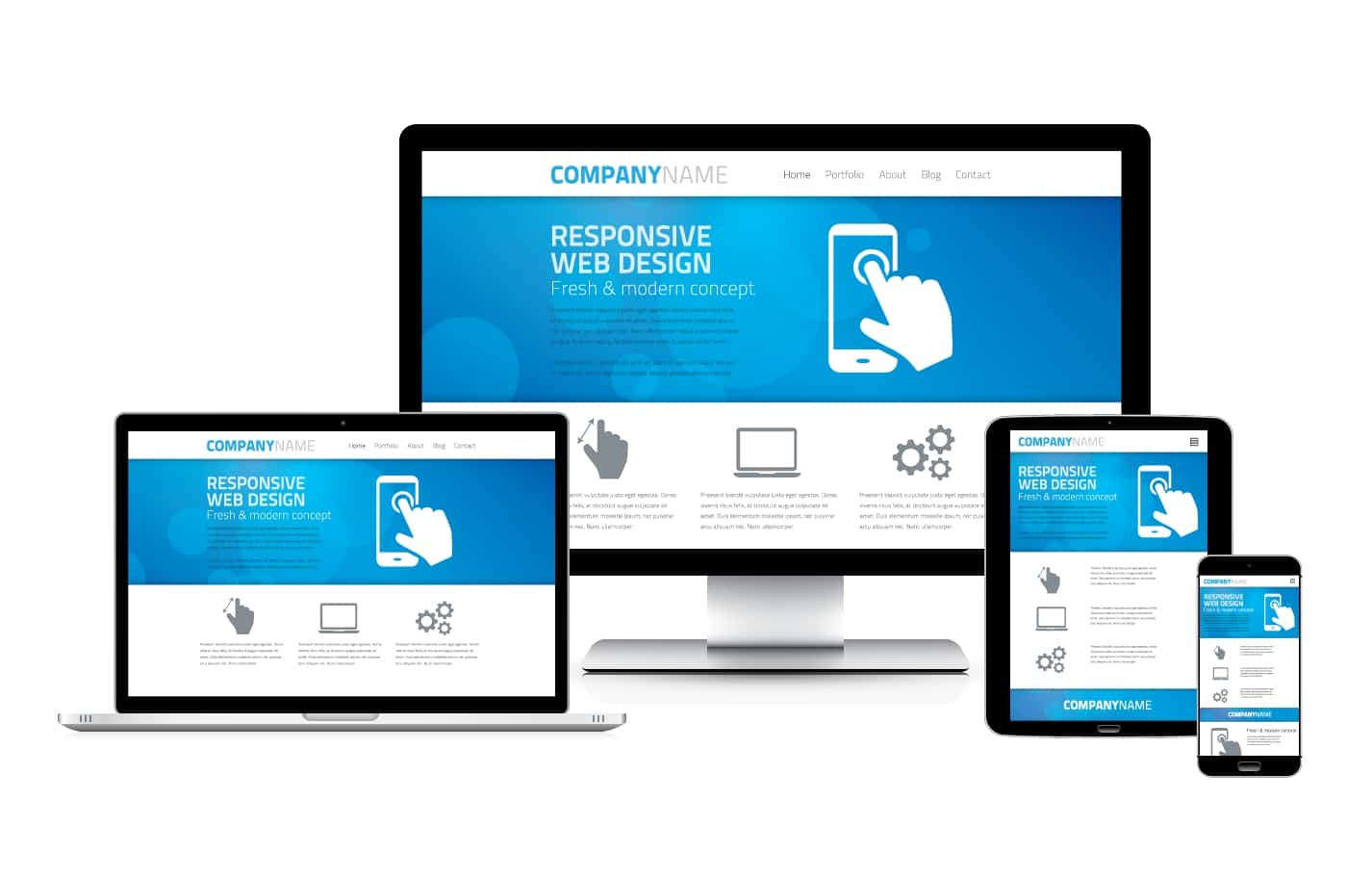 Mobile seo configurare il sito web per i dispositivi for Sito mobili