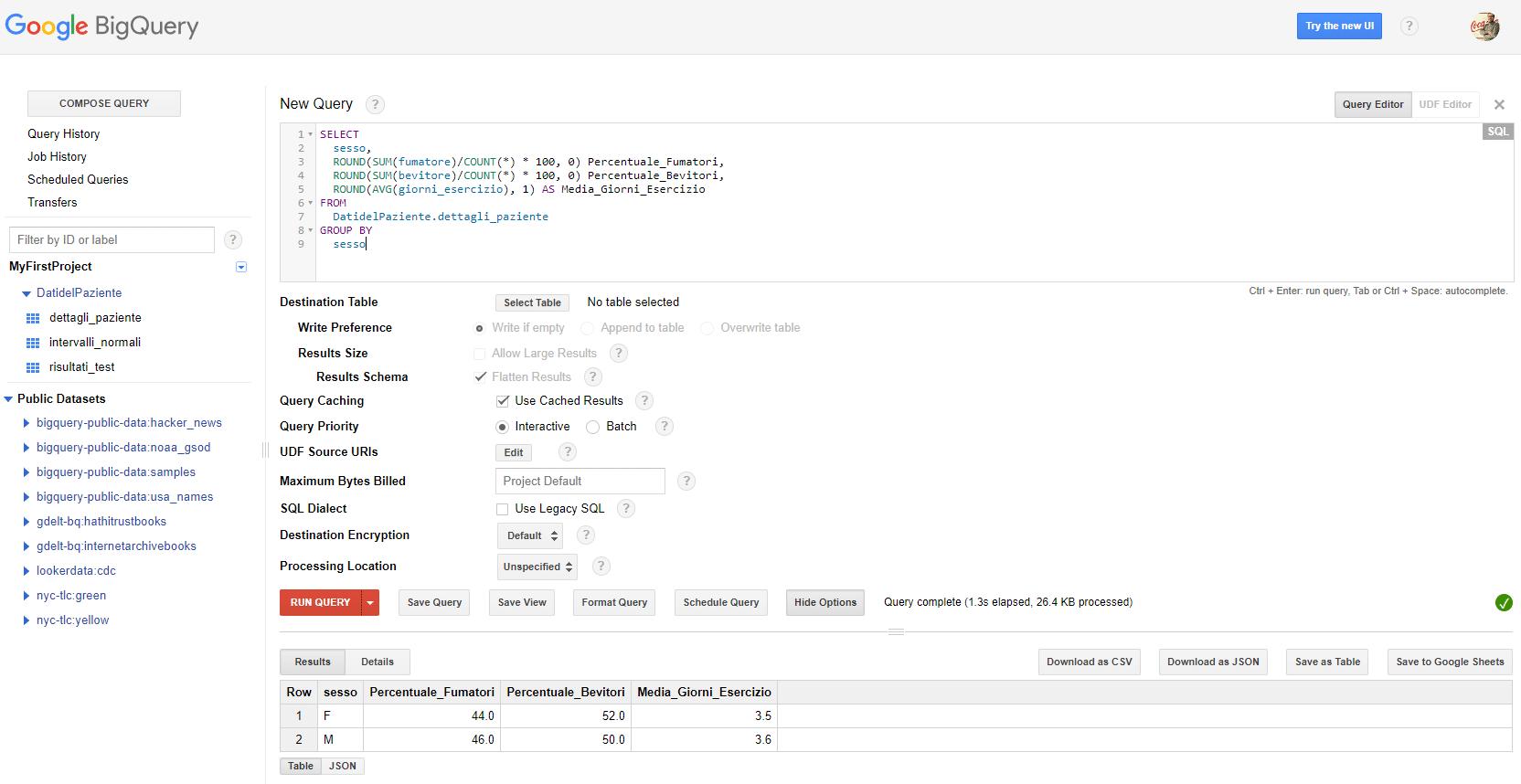 Come raggruppare e aggregare i dati - Google BigQuery - e-Service