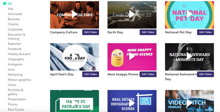 Biteable - uno strumento di video making creato per i marketer e le aziende - e-Service